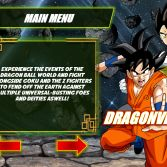 Dragon Ball Z Retro Battle X3  - Menu