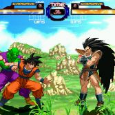 Dragon Ball Z Retro Battle X3  - Goku and Piccolo vs Raditz
