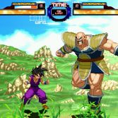 Dragon Ball Z Retro Battle X3  - Gohan vs Nappa