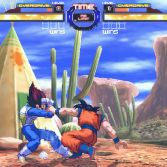 Dragon Ball Z Retro Battle X3  - Goku vs Vegeta