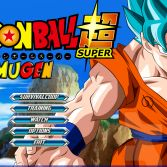 Dragon Ball Super Mugen - Title screen