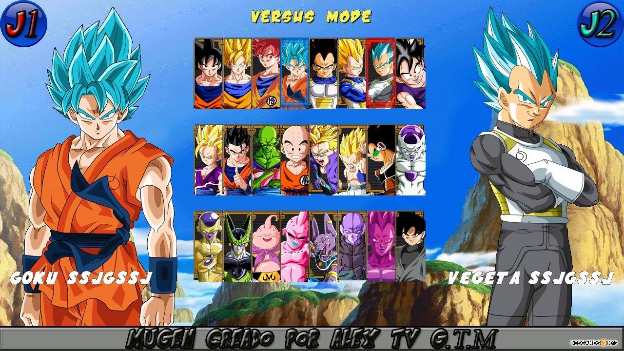dragon ball heroes mugen download