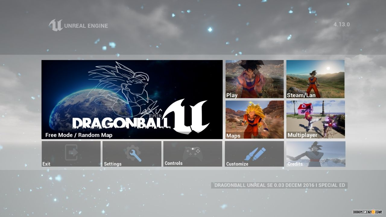Dragon Ball Unreal - Download - DBZGames org
