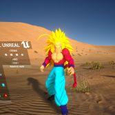 Dragon Ball Unreal - Character customization