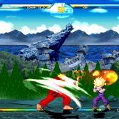 Dragon Ball Z vs Street Fighter III - Gohan vs Ken