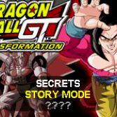 Dragon Ball GT Transformation - In game screenshot