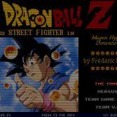 Dragon Ball Z Mugen Hyper Dimension - In game screenshot