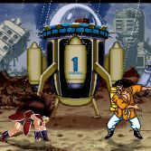 Dragon Ball Z Budokai HR - In game screenshot