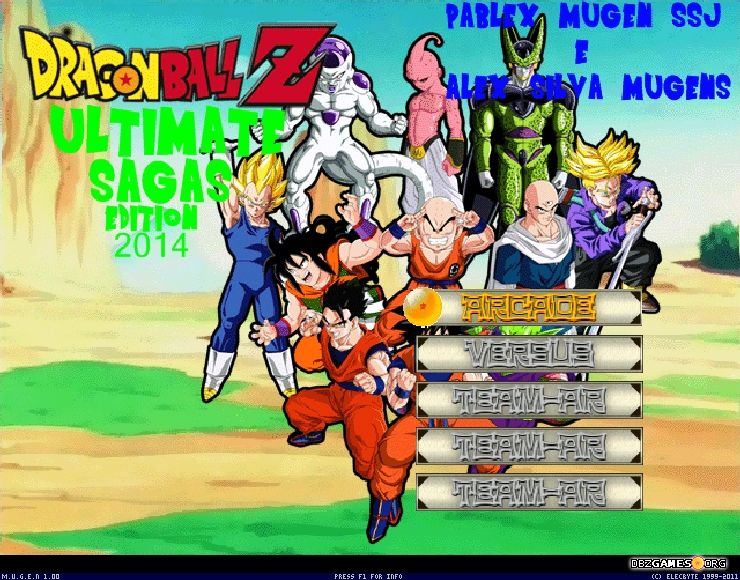 Dragon Ball Z Ultimate Sagas - Download - DBZGames org