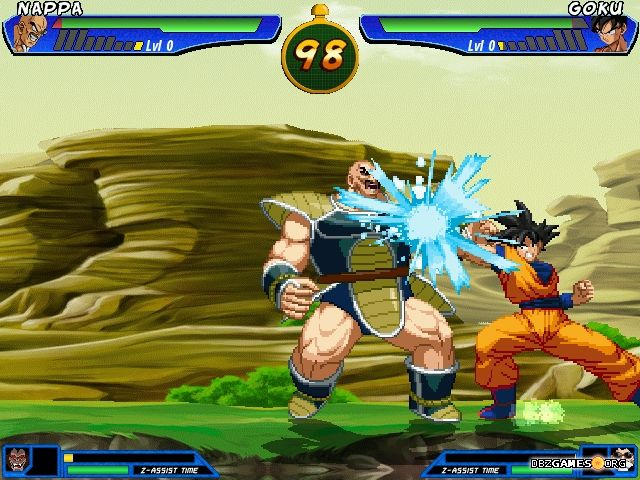 Dragon Ball Z Fury Budokai - Download - DBZGames org