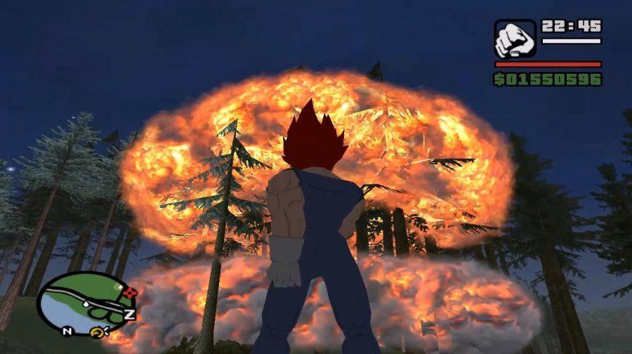 San Andreas Dragon Ball Transformation - Download - DBZGames org