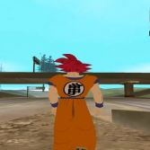 San Andreas Dragon Ball Transformation - In game screenshot