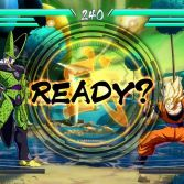 Dragon Ball FighterZ - Cell vs Goku