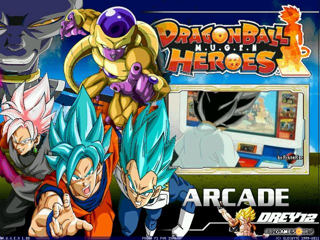 Super Dragon Ball Heroes Mugen Screenshots Images And Pictures