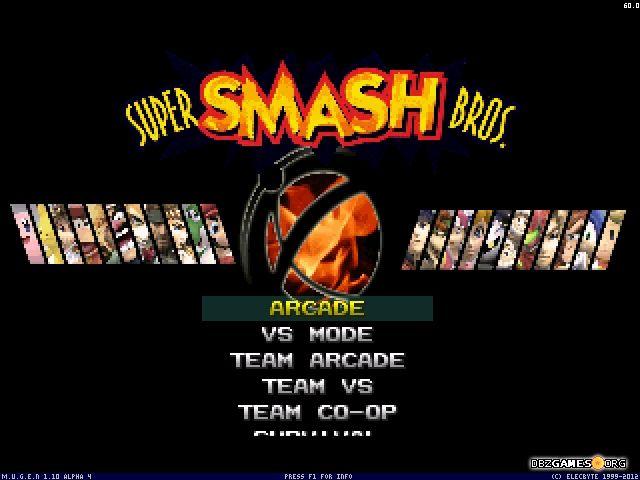 Smash Bros Mugen - Download - DBZGames org