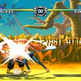 Dragon Ball Z vs One Piece Mugen - Screenshot