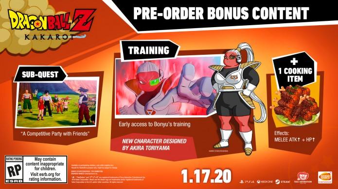 Dragon Ball Z Kakarot - Pre-order details