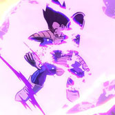 Dragon Ball FighterZ: Goku and Vegeta from Saiyan Saga gameplay trailers