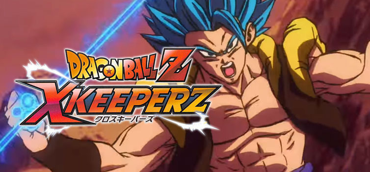 Dragon Ball Z X Keeperz: Gogeta SSGSS character trailer