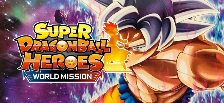 Super Dragon Ball Heroes World Mission: Create your own custom card and win a Goku UI Plastic Model Kit