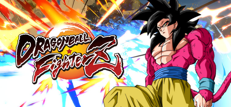 Dragon Ball FighterZ: SSJ4 transformation as part of Goku (GT) secret Meteor Attack, DLC launches in May